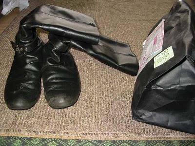 レザー製ブーツ01