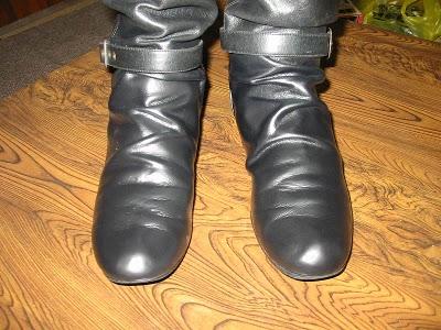 レザー製ブーツ03