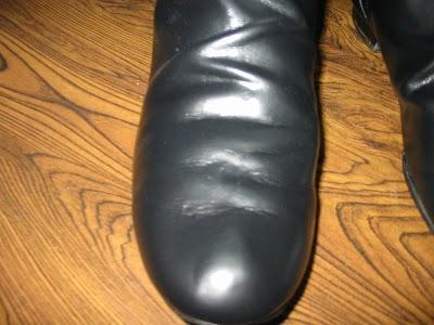 レザー製ブーツ04