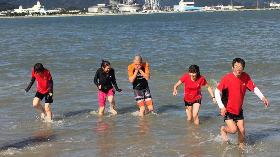 寒中水泳大会