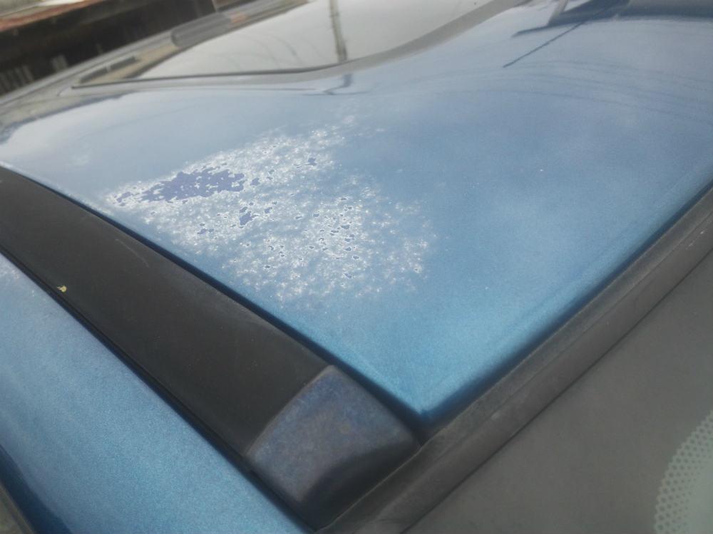 塗装面の劣化