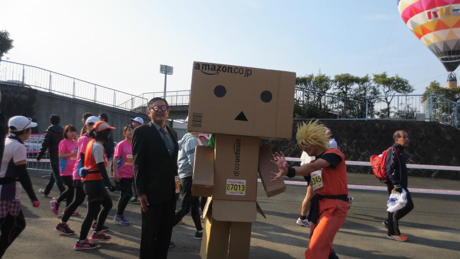 さが桜マラソン仮装