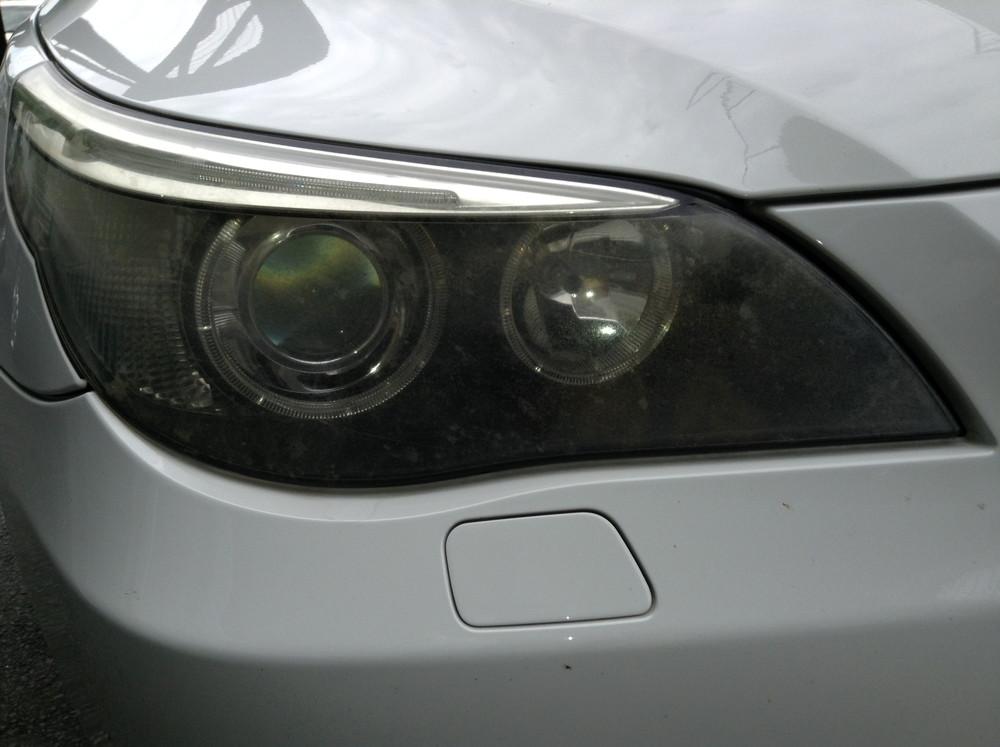 BMWヘッドライトの白濁・クラック