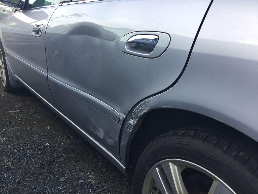 交通事故での修理