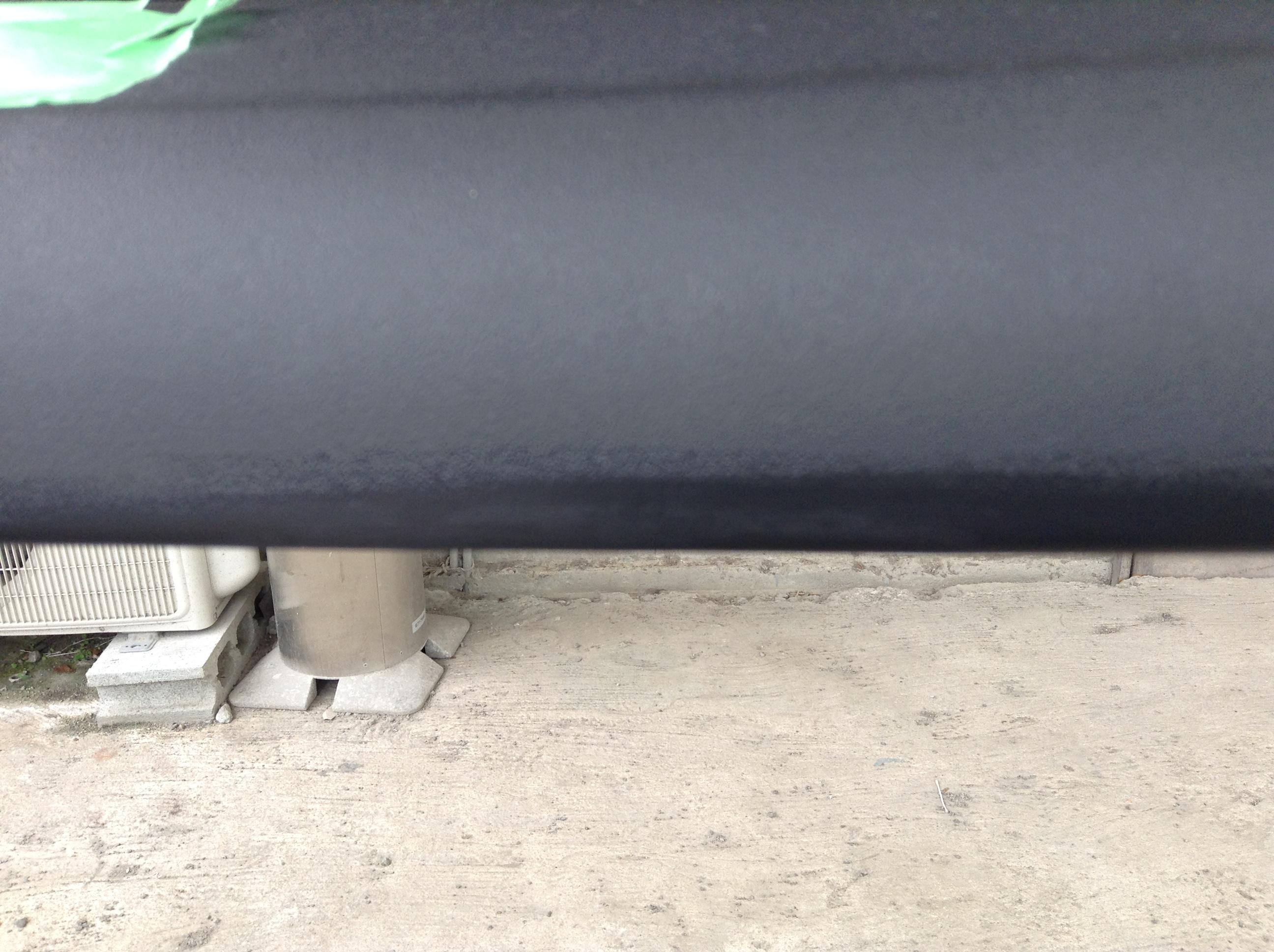 ビニールレザー素材のドア内張りの破れ