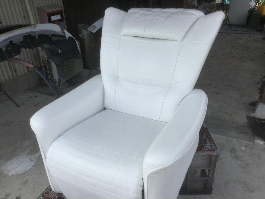 革製ソファーの補修色変え