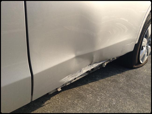 ステップワゴンの板金塗装・修理02