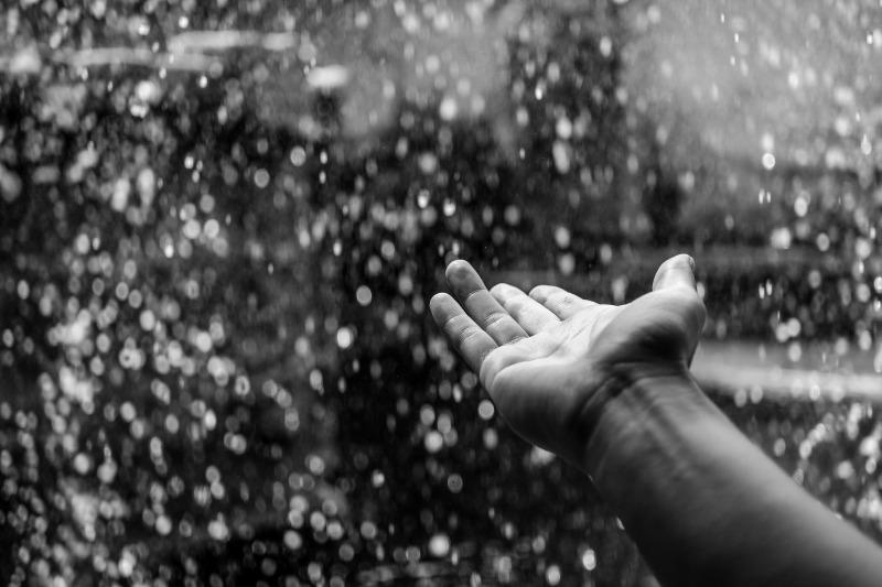 雨の日の洗車